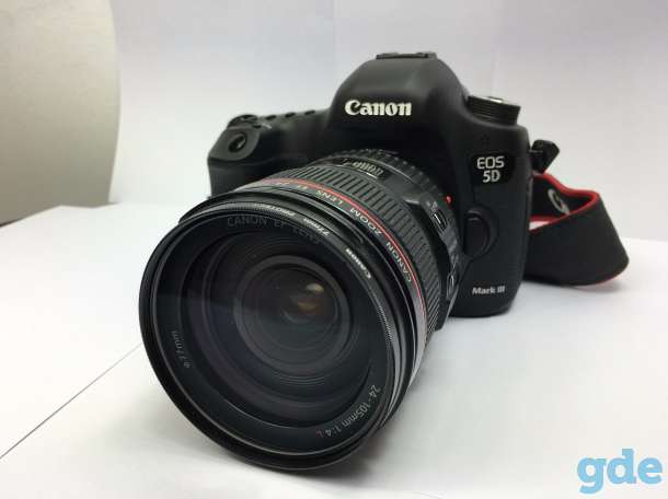 Canon EOS 5D Mark III DSLR Camera with 24-105mm f/4L Lens Deluxe Kit, фотография 4