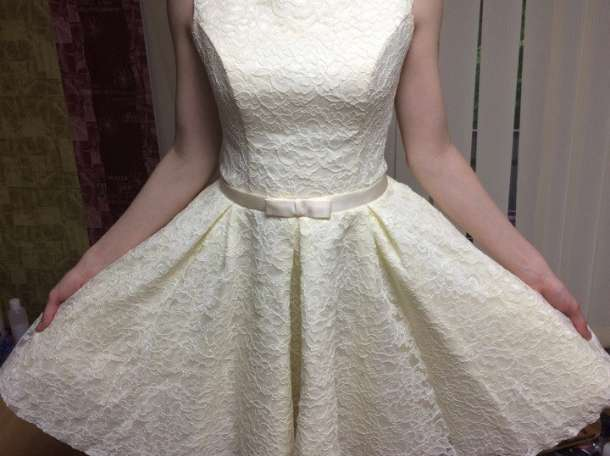 Платье (французское кружево с корсетом) +подарок, фотография 1