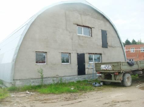 Продам ангар 600 кв.м. с участком 12 соток промназначения, г. Протвино, фотография 1