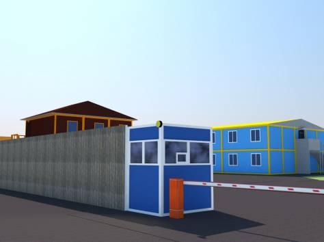 Модульные здания, металлоконструкции, фотография 1