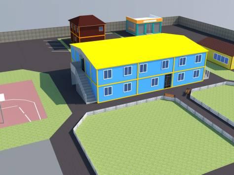 Модульные здания, металлоконструкции, фотография 2