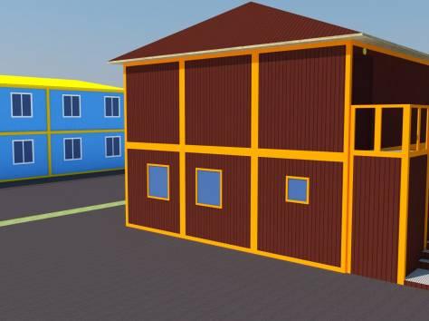 Модульные здания, металлоконструкции, фотография 6
