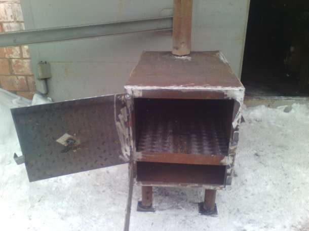 печь буржуйка, фотография 4