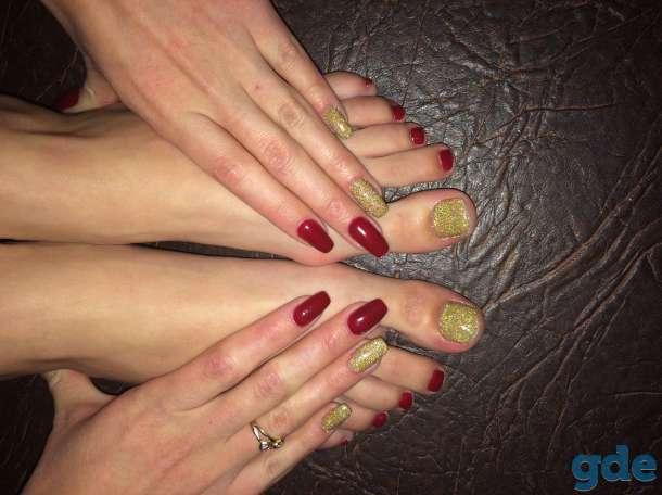 Гель-лак, наращивание ногтей, фотография 4