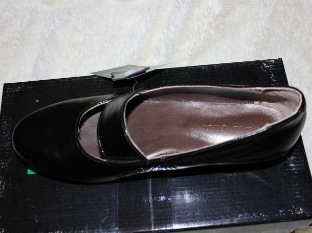 Новые туфли, кожа, черные, р.36, фотография 2