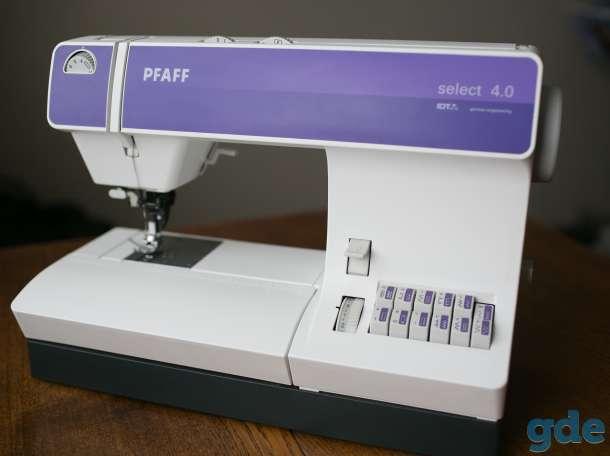 Швейная машинка Pfaff Select 4.0, фотография 2