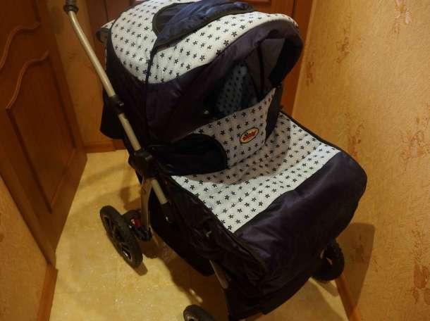 Продам детскую коляску-трансформер в отличном состоянии, фотография 6