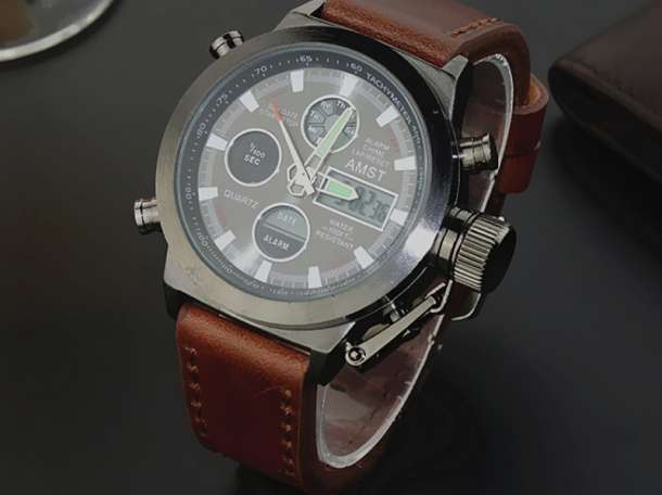 Оригинальные армейские часы AMST-3003 – настоящие часы для настоящих мужчин!, фотография 9