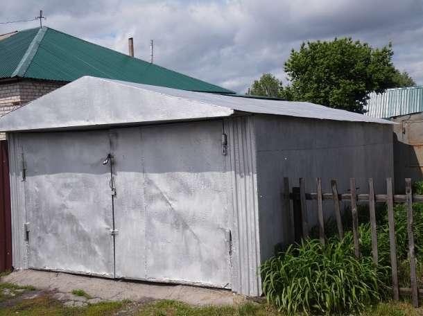 продам металлический гараж, Первомайский район с.Б-Ключи., фотография 1