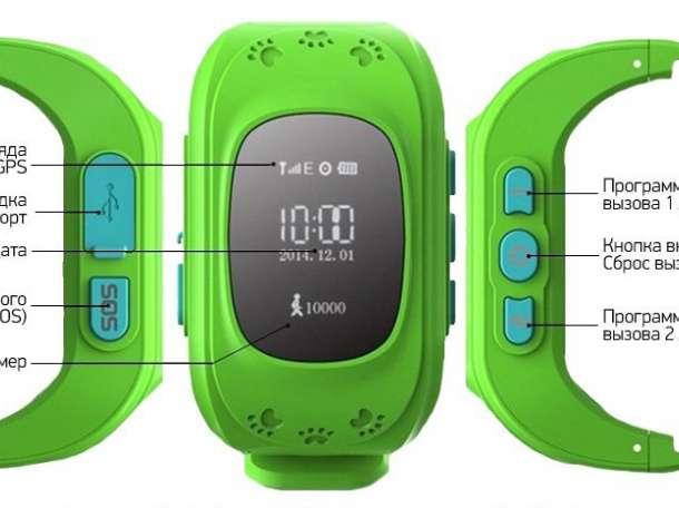Часы-телефон Кнопка жизни К911 GPS-геолокацией, фотография 1