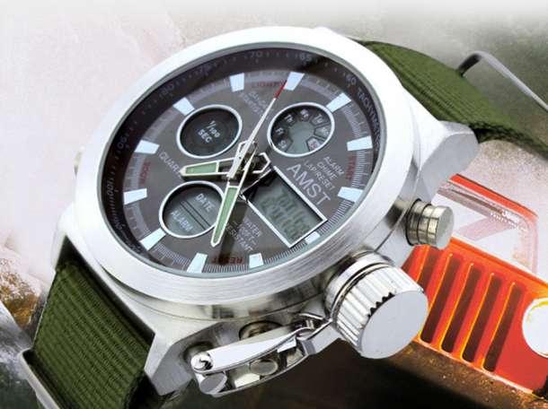 Оригинальные армейские часы AMST-3003 – настоящие часы для настоящих мужчин!, фотография 2