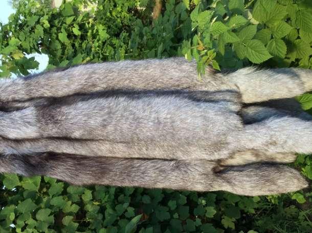 Шкурки чернобурки и вуалевого песца набором и в розницу, фотография 3