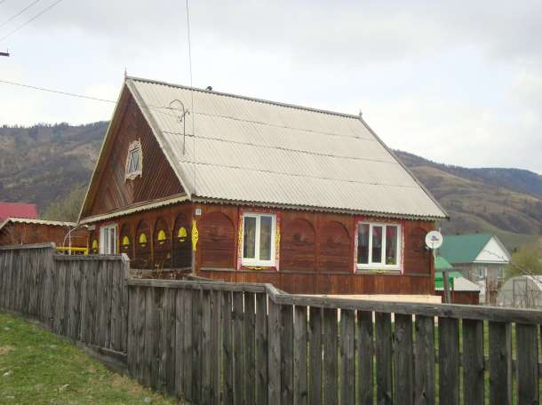 Продам деревянный одноэтажный благоустроенный дом из бруса (лиственница), в с. Усть-Кокса, фотография 2