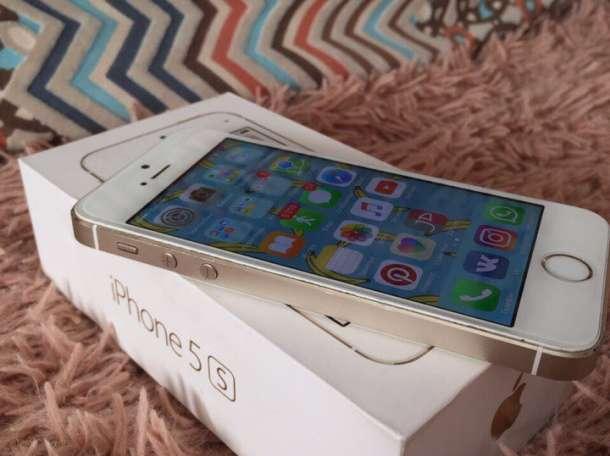 Продам iPhone 5s 16Gb Gold + подарок, фотография 5