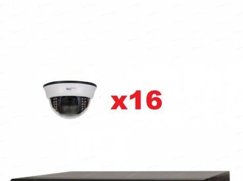 Комплекты видеонаблюдения 4, 8, 16 камер, фотография 1
