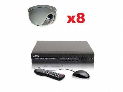Комплекты видеонаблюдения 4, 8, 16 камер, фотография 2