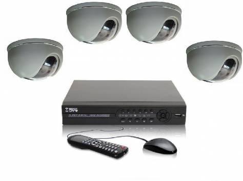 Комплекты видеонаблюдения 4, 8, 16 камер, фотография 3