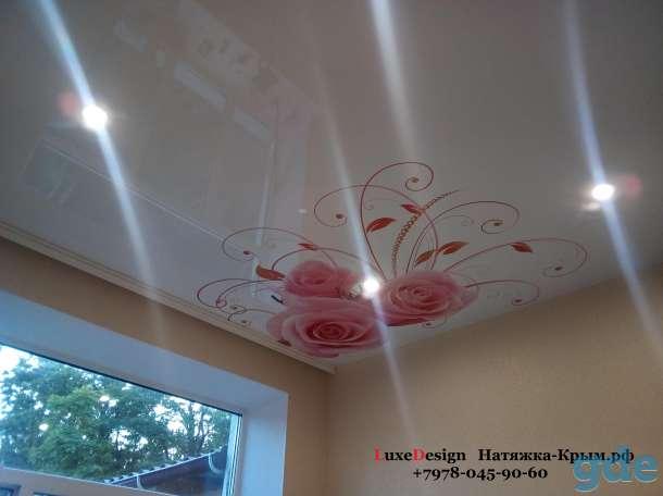 Художественные натяжные потолки Фотопечать LuxeDesign, фотография 1