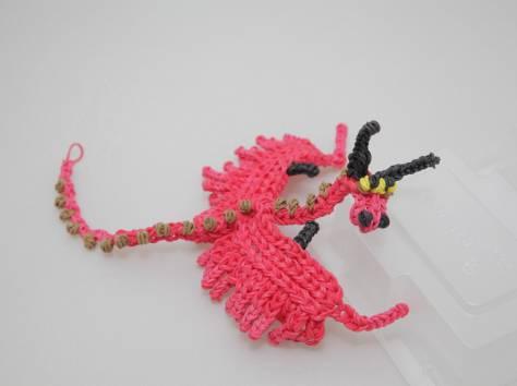 Плетение из резинок животные на станке схемы