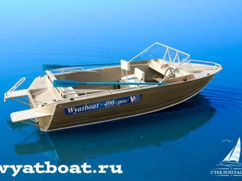 Алюминиевая моторная лодка (катер) Wyatboat-490 Pro , фотография 2