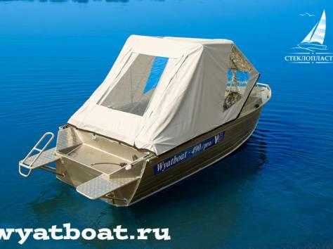 Алюминиевая моторная лодка (катер) Wyatboat-490 Pro , фотография 5