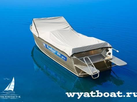 Алюминиевая моторная лодка (катер) Wyatboat-490 Pro , фотография 9