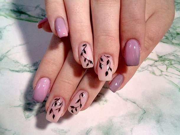 Маникюр, Гель-лак, Наращивание ногтей гелем | Маникюр, педикюр в ...