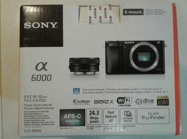 Системная камера Sony Alpha ILCE-6000 Kit, фотография 9