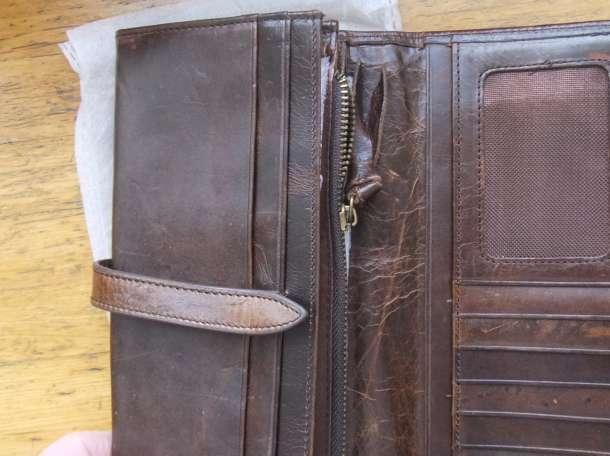 Бумажник портмоне, натуральная кожа, фотография 2
