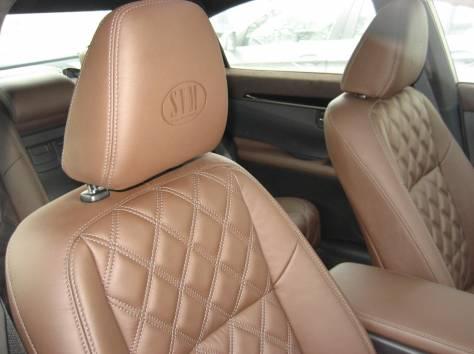 Перетяжка сидений натуральной кожей, алькантарой, экокожей, фотография 7