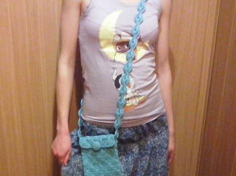 Вязаная сумочка, фотография 2