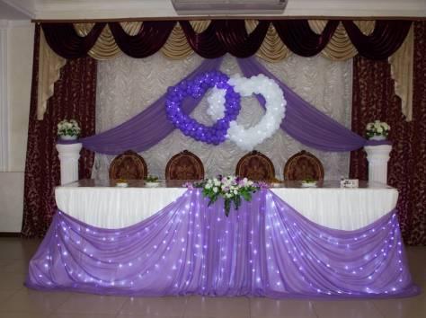 Оформление банкетных залов на свадьбу, фотография 5