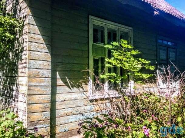 Зимний дом на краю села, рядом 7 гектар земли, Лавры, р-н, Псковская область, фотография 7