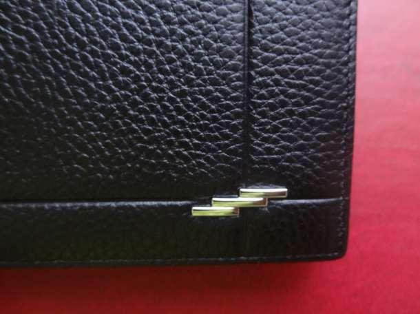 мужской кошелек из нат.кожи новый, фотография 3