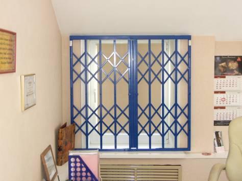 Защитные раздвижные решетки на окна двери балкон в иркутс....