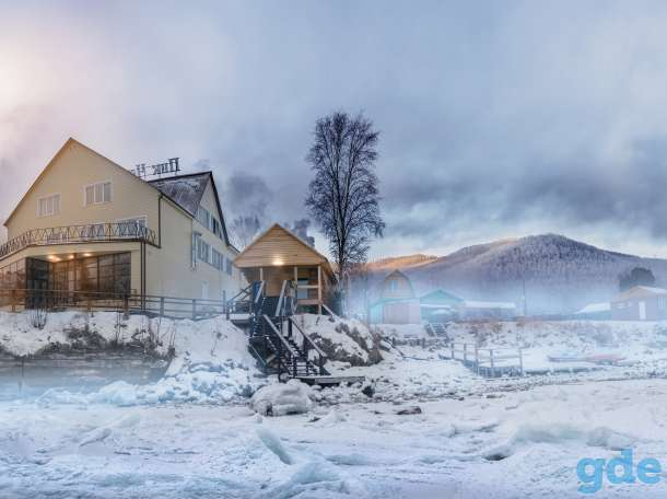 Отдых на Байкале. Гостиница и ресторан на берегу., фотография 1