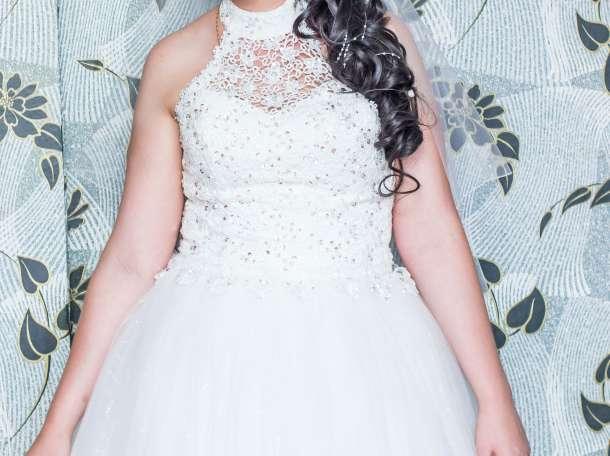 продам свадебное платье, фотография 2