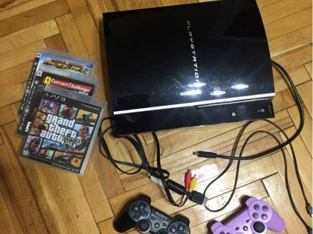 Продам Sony PlayStation 3 Fat (PS3) 40gb, фотография 1