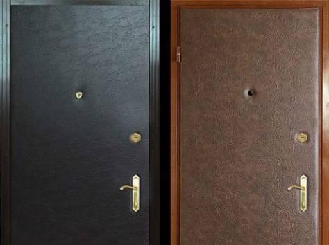 двери стальные винил