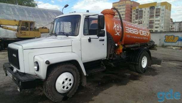Услуги ассенизатора в Тюмени (объем 4 куб.м.), фотография 2