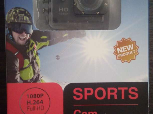 Видео спорт камера, фотография 1