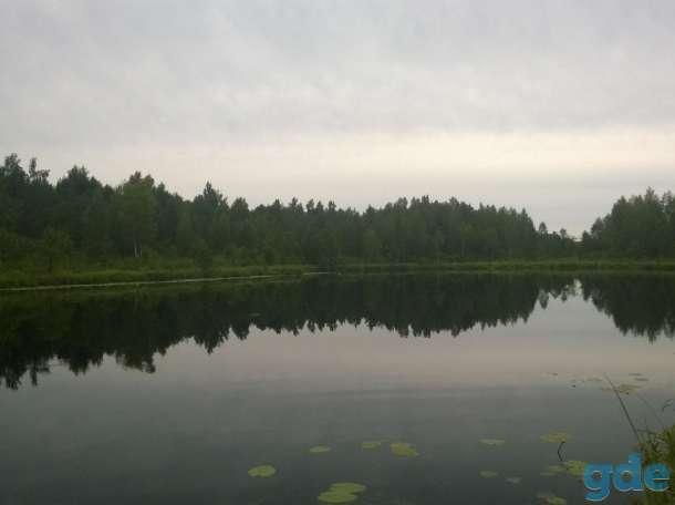 Дом с баней в живописном местечке рядом с озером, 47 соток земли, фотография 2
