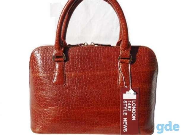 Кожаная женская сумочка, фотография 3