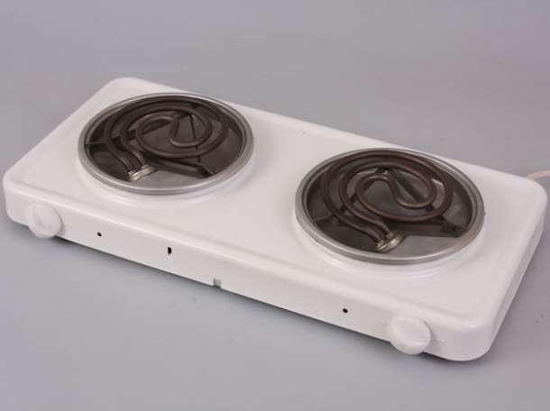 Плитка электрическая Пскова 2 конфорки 1+1кВт, фотография 1