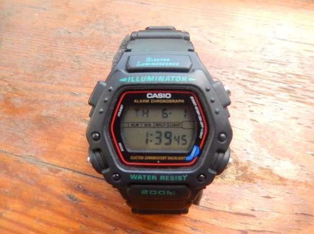 Продам часы Casio DW-290-1V в идеальном состоянии, фотография 1