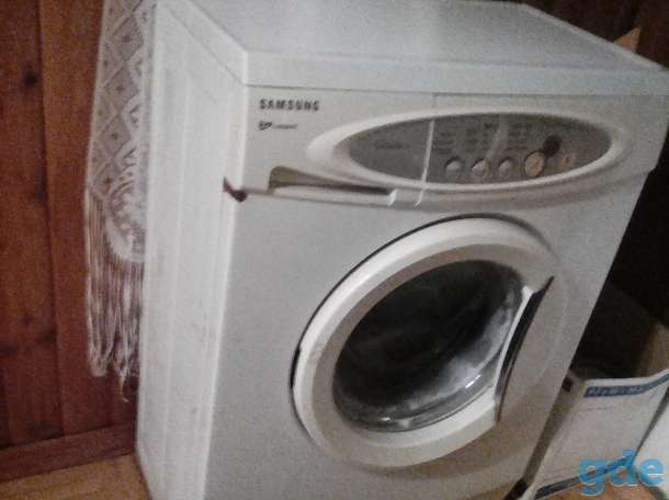 продам стиральную машину-автомат SAMSUNG на запчасти, фотография 2