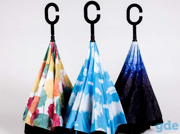 Зонт наоборот Jonas Hanway, фотография 2