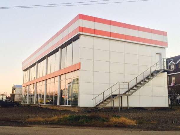 Торговое помещение два этажа 650кв.м, Краснодарский край, Динская, станица Динская, Спортивная улица, дом 1, фотография 2