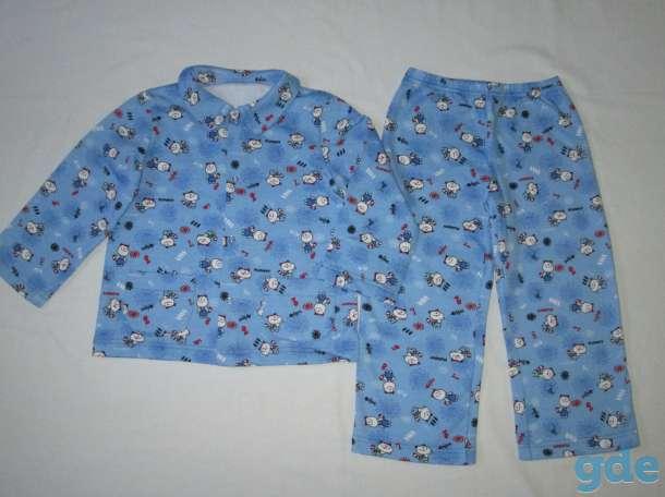Теплые детские пижамки, фотография 3