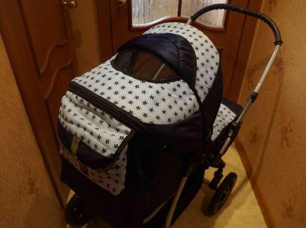 Продам детскую коляску-трансформер в отличном состоянии, фотография 3